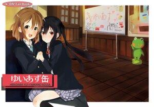 Rating: Safe Score: 8 Tags: denchuu hirasawa_yui k-on! nakano_azusa seifuku User: hobbito