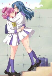 Rating: Safe Score: 28 Tags: aida_mana dokidoki!_precure hishikawa_rikka misu_kasumi pretty_cure seifuku yuri User: Radioactive