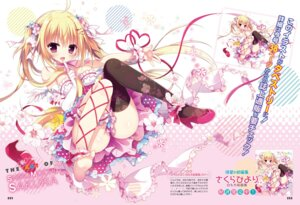 Rating: Questionable Score: 77 Tags: digital_version dress feet heels shiromochi_sakura thighhighs wings User: Twinsenzw