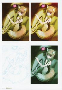 Rating: Questionable Score: 5 Tags: animal_ears holo koume_keito monster naked sketch spice_and_wolf tail User: kiyoe