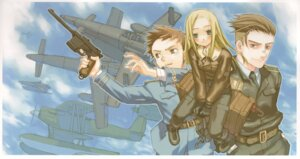 Rating: Safe Score: 6 Tags: allison_series allison_to_lillia allison_whittington carr_benedict gun kuroboshi_kouhaku mecha uniform wilhelm_schultz User: Radioactive