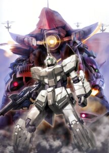 Rating: Safe Score: 11 Tags: gundam gundam_unicorn morishita_naochika shamblo unicorn_gundam User: DDD