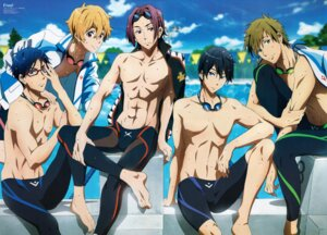 Rating: Safe Score: 11 Tags: free! hazuki_nagisa male matsuoka_rin nakano_emiko nanase_haruka ryugazaki_rei swimsuits tachibana_makoto wet User: Radioactive