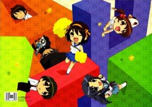 Rating: Safe Score: 6 Tags: asakura_ryouko koizumi_itsuki kunikida kyon's_sister nagato_yuki seifuku suzumiya_haruhi suzumiya_haruhi_no_yuuutsu User: luuu_lz