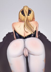 Rating: Questionable Score: 31 Tags: ass cameltoe genshin_impact jean_(genshin_impact) ldd.ek leotard no_bra nopan pantyhose see_through User: BattlequeenYume
