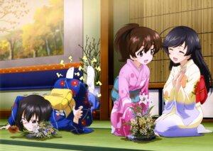 Rating: Safe Score: 28 Tags: girls_und_panzer isuzu_hana kawashima_momo kimono koyama_yuzu megane yoshida_nobuyoshi User: drop