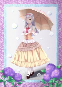 Rating: Safe Score: 20 Tags: chahei dress kantai_collection shoukaku_(kancolle) umbrella User: Mr_GT