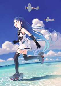 Rating: Safe Score: 30 Tags: heels kantai_collection kokudou_juunigou samidare_(kancolle) seifuku thighhighs User: Mr_GT
