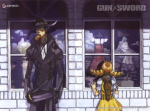 Rating: Safe Score: 7 Tags: gun_x_sword kimura_takahiro ricca van_(gun_x_sword) wendy_garret User: Radioactive
