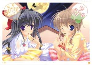 Rating: Safe Score: 10 Tags: marmalade mikeou miraroma pajama takahara_ai tsukimiya_kaede User: WtfCakes