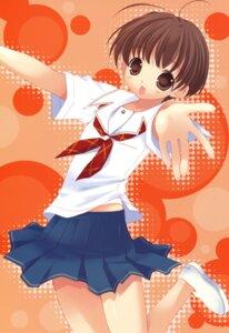 Rating: Safe Score: 13 Tags: kimikiss satonaka_narumi seifuku tokumi_yuiko User: blooregardo