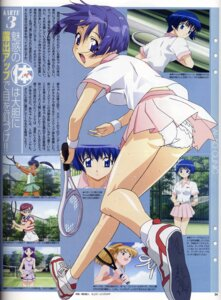 Rating: Questionable Score: 7 Tags: ai_yori_aoshi binding_discoloration hosoda_naoto pantsu sakuraba_aoi screening tennis User: ttfn