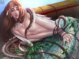 Rating: Questionable Score: 4 Tags: bondage mermaid monster_girl mr-vy naked tentacles User: dick_dickinson