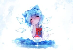 Rating: Safe Score: 29 Tags: cirno dress sen_ya touhou wings User: lee1238234