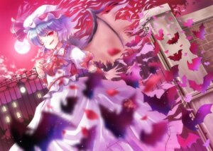 Rating: Safe Score: 22 Tags: hyuuga_azuri remilia_scarlet touhou wings User: Nekotsúh