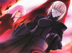 Rating: Safe Score: 25 Tags: fate/stay_night fate/unlimited_codes higurashi_ryuuji matou_sakura saber saber_alter type-moon User: Radioactive