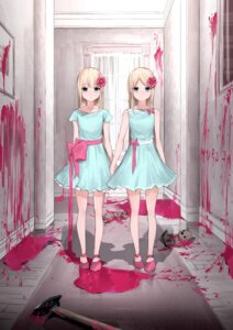 Rating: Safe Score: 35 Tags: blood dress kanju tagme the_shining weapon User: Spidey
