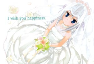 Rating: Safe Score: 43 Tags: dress eucliwood_hellscythe kobuichi kore_wa_zombie_desu_ka wedding_dress User: Azraelson