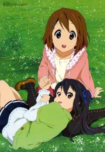 Rating: Safe Score: 47 Tags: hirasawa_yui k-on! nakano_azusa oota_rika User: Aurelia