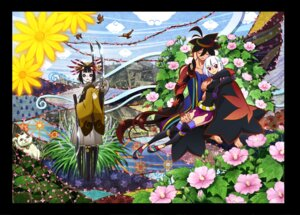 Rating: Safe Score: 17 Tags: biyorigou japanese_clothes katanagatari togame yasuri_shichika User: herpderp