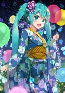 Rating: Safe Score: 20 Tags: hatsune_miku rinne_(buye_rinne) vocaloid yukata User: Arsy