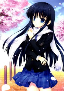 Rating: Safe Score: 37 Tags: mitha screening seifuku touma_kazusa white_album white_album_2 User: にまび