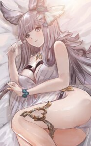 Rating: Questionable Score: 16 Tags: animal_ears bikini cleavage garter granblue_fantasy korwa nasu_(luliice1014) see_through swimsuits User: yanis