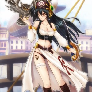 Rating: Questionable Score: 38 Tags: cleavage garter pantsu pirate sawwei005 sword tattoo User: mash