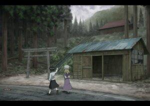 Rating: Safe Score: 19 Tags: dress landscape maribel_hearn sasaj touhou usami_renko User: Noodoll
