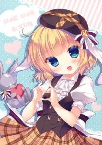 Rating: Safe Score: 58 Tags: gochuumon_wa_usagi_desu_ka? kirima_sharo peach_candy yukie User: Twinsenzw
