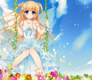 Rating: Safe Score: 67 Tags: ame_nochi_yuki ame_to_yuki cleavage detexted dress feet fixed summer_dress User: Anonymous