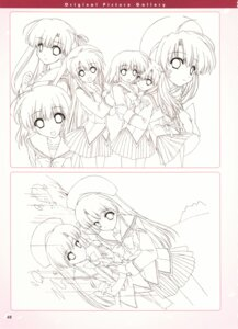 Rating: Safe Score: 9 Tags: boy_meets_girl seifuku shintarou sketch User: admin2
