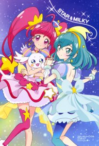 Rating: Safe Score: 15 Tags: bloomers dress hagoromo_lala hoshina_hikaru pretty_cure star_twinkle_precure thighhighs toei_animation User: drop