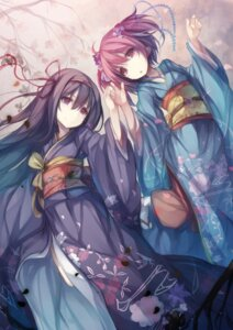 Rating: Safe Score: 69 Tags: akemi_homura fal_maro kaname_madoka kimono puella_magi_madoka_magica User: SubaruSumeragi