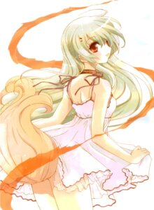 Rating: Safe Score: 16 Tags: dress inukami screening tail youko User: charunetra
