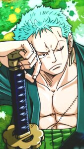 Rating: Safe Score: 3 Tags: male one_piece roronoa_zoro sword tagme User: charunetra