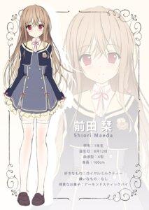 Rating: Safe Score: 23 Tags: maeda_shiori seifuku stockings thighhighs twinbox twinbox_school User: zyll