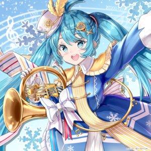 Rating: Safe Score: 15 Tags: hatsune_miku tagme uniform vocaloid yuki_miku User: Mr_GT