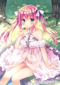 Rating: Questionable Score: 129 Tags: dress hisama_kumako moco_chouchou pantsu User: Twinsenzw