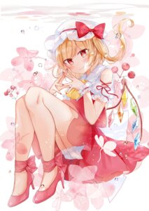Rating: Safe Score: 23 Tags: bloomers flandre_scarlet heels moko_(3886397) skirt_lift touhou wings User: Mr_GT