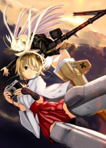 Rating: Questionable Score: 29 Tags: animal_ears ass gun hanna-justina_marseille katou_keiko miko nogami_takeshi pantsu strike_witches tail User: killuapo