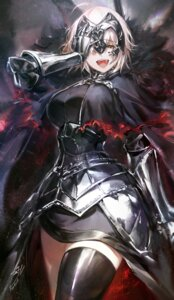 Rating: Questionable Score: 47 Tags: armor fate/grand_order hoojiro jeanne_d'arc jeanne_d'arc_(alter)_(fate) thighhighs User: Mr_GT