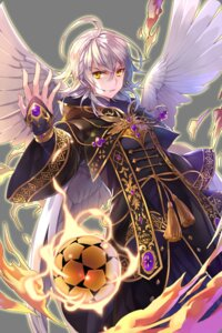 Rating: Safe Score: 9 Tags: crocell_(soccer_spirits) gl_ztoh male soccer_spirits transparent_png wings User: charunetra
