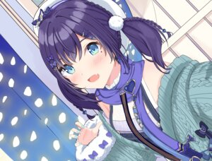 Rating: Safe Score: 21 Tags: aiba_uiha nijisanji overalls sakura_lily_(shiro) selfie sweater User: Munchau