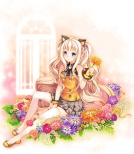 Rating: Safe Score: 55 Tags: animal_ears nekomimi paint_musume seeu thighhighs vocaloid User: Platinum