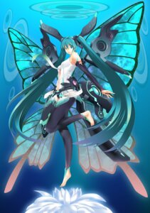 Rating: Safe Score: 33 Tags: hatsune_miku miku_append vocaloid vocaloid_append wings yuta-mu User: fairyren