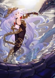 Rating: Safe Score: 18 Tags: armor ass bodysuit granblue_fantasy medusa_(shingeki_no_bahamut) monster pointy_ears shijiuqaq tail User: BattlequeenYume