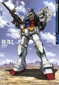 Rating: Safe Score: 18 Tags: gun gundam mecha mobile_suit_gundam rx-78-2_gundam teraoka_iwao User: Radioactive