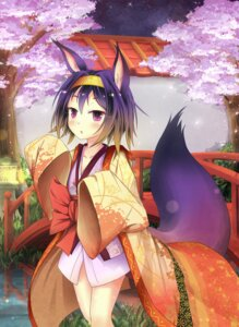 Rating: Safe Score: 68 Tags: animal_ears asakurashinji hatsuse_izuna japanese_clothes no_game_no_life tail User: tbchyu001