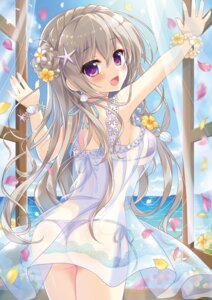 Rating: Questionable Score: 54 Tags: ame_to_yuki dress see_through summer_dress swimsuits User: kiyoe